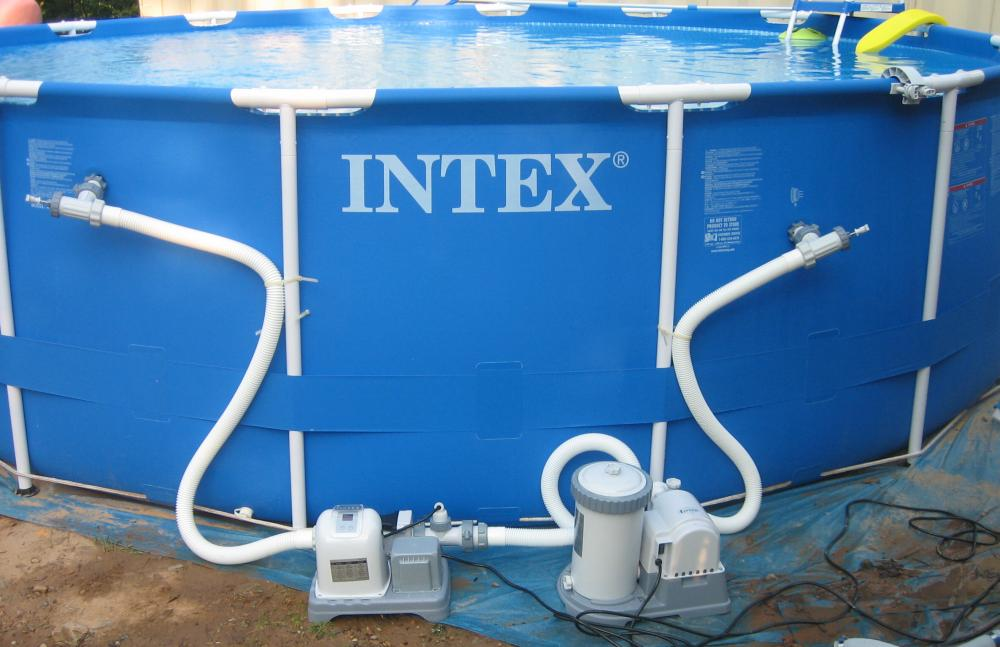 intex 1000 gph pump vs 2500 gph is like night and day th intex 1000 gph pump vs 2500 gph is like night and day